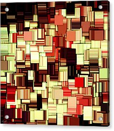 Modern Abstract Art Xvii Acrylic Print by Lourry Legarde