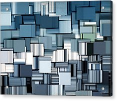 Modern Abstract II Acrylic Print by Lourry Legarde