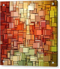 Modern Abstract Viii Acrylic Print by Lourry Legarde