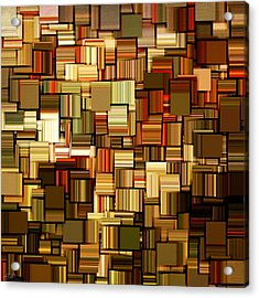 Modern Abstract Xxiii Acrylic Print by Lourry Legarde