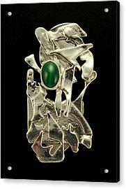 Modern Art Acrylic Print by Laura Wilson