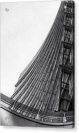 Modern Curves Acrylic Print by Alfio Finocchiaro