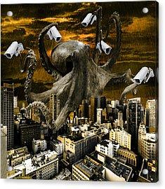 Modern Freedom Acrylic Print by Marian Voicu