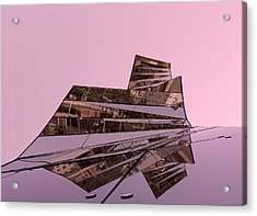 Modern Reflections ... Acrylic Print by Juergen Weiss