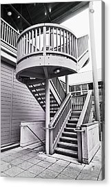 Modern Stairs Acrylic Print by Tom Gowanlock