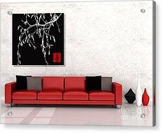Modern Zen Design Acrylic Print by Andrea Kollo