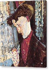 Modiglianiamedeo 1884-1920. Portrait Acrylic Print by Everett