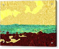 Moku Kapa 9 Acrylic Print by Kenneth Grzesik