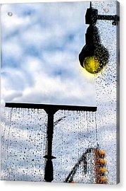 Molly's Window Acrylic Print by Bob Orsillo