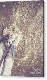 Moment Of Impact Acrylic Print by Jorgo Photography - Wall Art Gallery