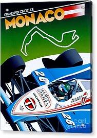 Monaco Acrylic Print by Gavin Macloud