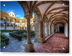 Monastery Of Nossa Senhora Da Assuncao Acrylic Print by English Landscapes