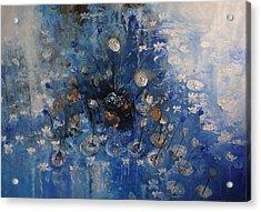 Monet Revisited -revisitando Monet Acrylic Print by Hermes Delicio