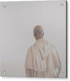 Monk, Santantimo I, 2012 Acrylic On Canvas Acrylic Print by Lincoln Seligman