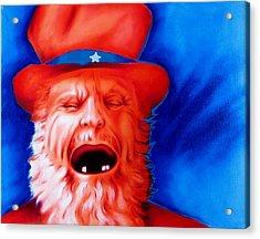Monkey's Uncle Acrylic Print by Robert Martinez