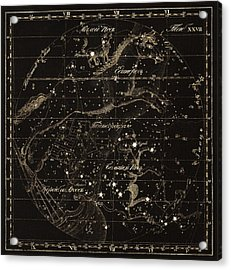 Monoceros Constellations, 1829 Acrylic Print by Science Photo Library