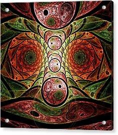 Monster Under The Bed Acrylic Print by Anastasiya Malakhova