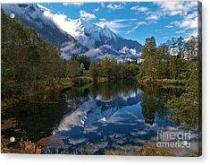 Mont Blanc Massiv Acrylic Print by Juergen Klust