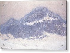 Mont Kolsaas Acrylic Print by Claude Monet