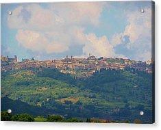 Montalcino Acrylic Print by Marilyn Dunlap