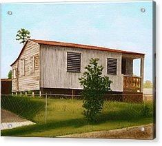 Montalvo Family House - Puerto Rico Acrylic Print by Robin Capecci