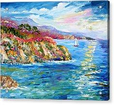 Monterey California Spring Acrylic Print by Karen Tarlton