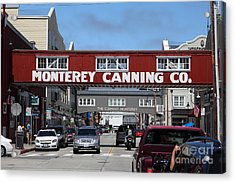 Monterey Cannery Row California 5d25029 Acrylic Print by Wingsdomain Art and Photography