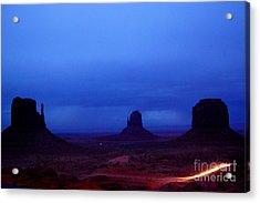 Monument Valley Awakens Acrylic Print by C Lythgo