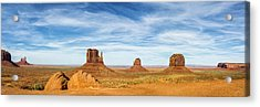 Monument Valley Panorama - Arizona Acrylic Print by Brian Harig