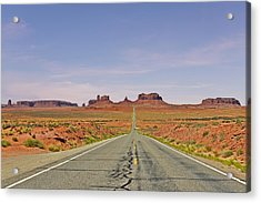 Monument Valley - The Classic View Acrylic Print by Christine Till
