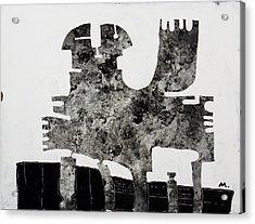 Monumentum No 1 Acrylic Print by Mark M  Mellon