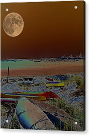 Moon Dreams Acrylic Print by Robert McCubbin