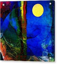 Moon In My Window Acrylic Print by Gun Legler