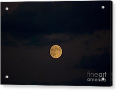 Moon Rising 07 Acrylic Print by Thomas Woolworth