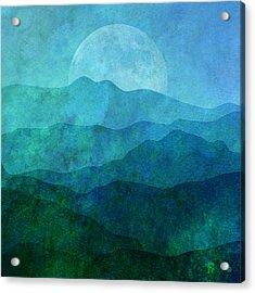 Moonlight Hills Acrylic Print by Gary Grayson