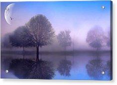 Moonlight Sonata Acrylic Print by Jessica Jenney