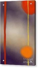 Moonlit Night II Acrylic Print by Anita Lewis
