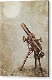 Moonrise Acrylic Print by Eric Fan