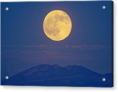 Moonrise Acrylic Print by Juan Carlos Casado (starryearth.com)