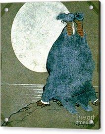 Moonstruck 1913 Acrylic Print by Padre Art