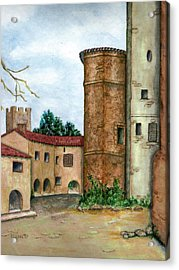 Morcone  Acrylic Print by Pamela Allegretto