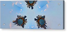 More Manhattans Acrylic Print by Joanna Madloch