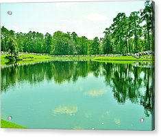 More To Reflect Acrylic Print by Sharon Farris