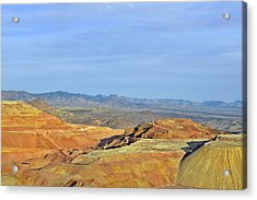 Morenci - A Beauty Of A Copper Mine Acrylic Print by Christine Till