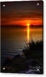 Morning By The Shore Acrylic Print by Veikko Suikkanen