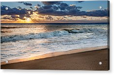 Morning Clouds Acrylic Print by Bill Wakeley