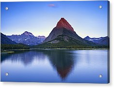 Morning In The Mountains Acrylic Print by Andrew Soundarajan