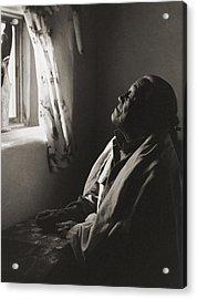 Teresino Jiron - Taos Acrylic Print by Gary Auerbach