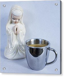 Morning Prayer Acrylic Print by William Patrick