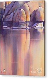 Morning Reflection Acrylic Print by Robert Hooper